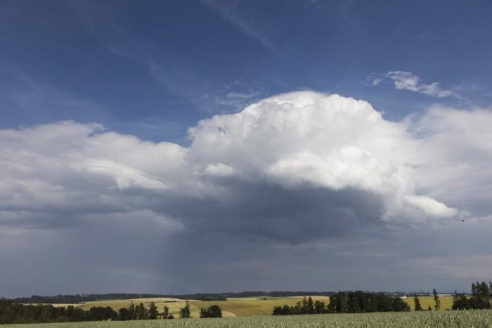 Bouřkový mrak vrozpadu - autor: Zbyněk Černoch