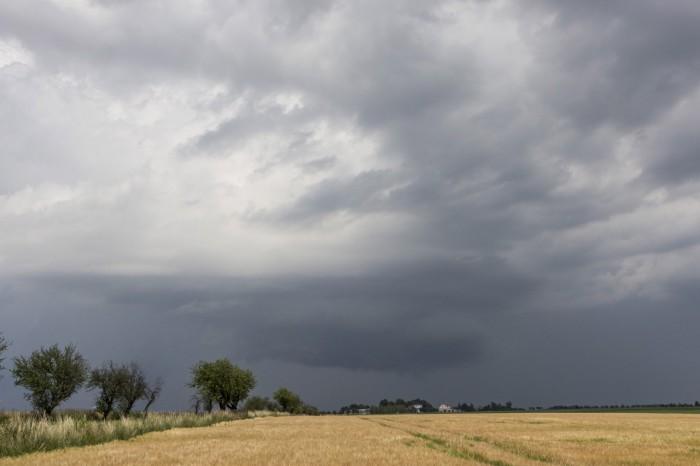 Wall cloud - autor: Zbyněk Černoch