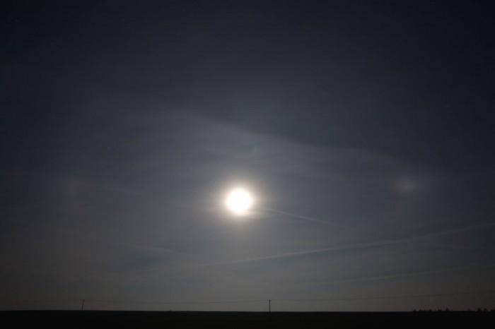Měsíční halo - autor: Zbyněk Černoch