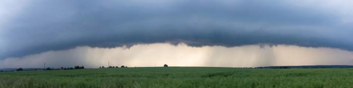 Panorama přicházející bouřky - autor: Zbyněk Černoch