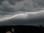 Shelf cloud - detail - autor: