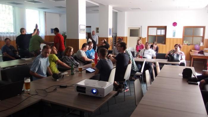 V přednáškovém sále - autor: Tomáš Prouza