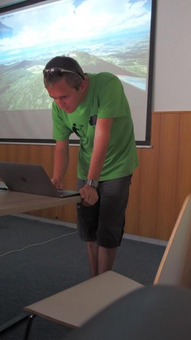 Z přednášek - autor: Tomáš Prouza
