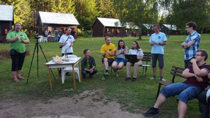 Výroční schůze Amatérské meteorologické společnosti - autor: Tomáš Prouza