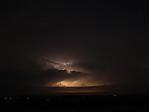 Cumulonimbus prosvícený vnitřním bleskem - autor: Michal Janoušek