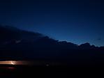 Večerní pásová bouřka sbleskem - autor: Michal Janoušek
