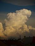 Večerní cumulonimbus calvus - autor: