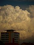 Masivní cumulus congestus - autor: