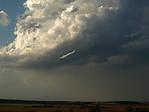 Funnel cloud uzákladny Cb - autor: Michal Janoušek