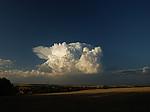 Rostoucí cumulonimbus - autor: Michal Janoušek