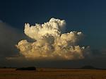 Slabší cumulonimbus - autor: Michal Janoušek