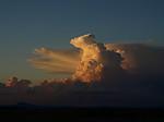 Cb při západu slunce - autor: Michal Janoušek