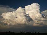 Sílící cumulonimbus - autor: Michal Janoušek