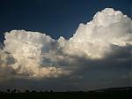 Odstupující cumulonimbus společně snovou kupou - autor: Michal Janoušek