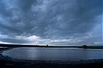 Voda na poli po přívalovém dešti - autor: Michal Janoušek