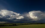 Kovadliny slabých cumulonimbů - autor: Michal Janoušek