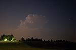 Noční cumulonimbus II - autor: Michal Janoušek