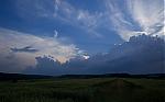Blížící se pás bouřkové oblačnosti - autor: Michal Janoušek