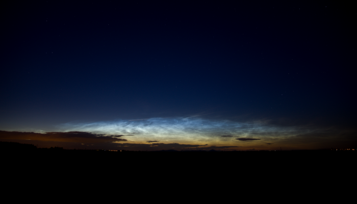 Noční svítící oblaky - zánik - autor: Michal Janoušek