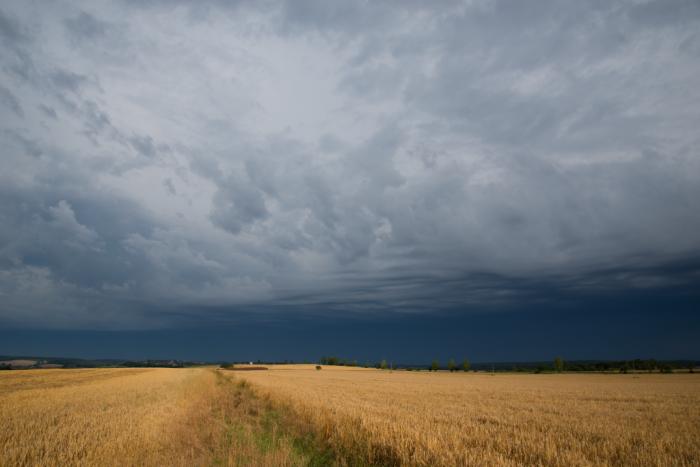 Blížící se ranní bouřka - autor: Michal Janoušek