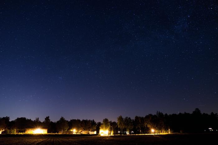 Drhleny snoční oblohou - autor: Michal Janoušek
