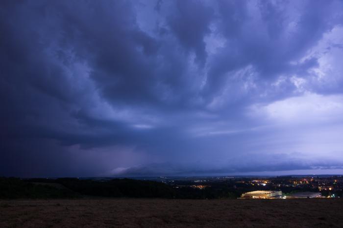 Blížící se noční bouřka  - autor: Michal Janoušek