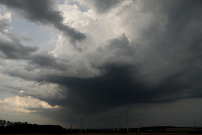 Právně vznikající silná bouřka - autor: Michal Janoušek