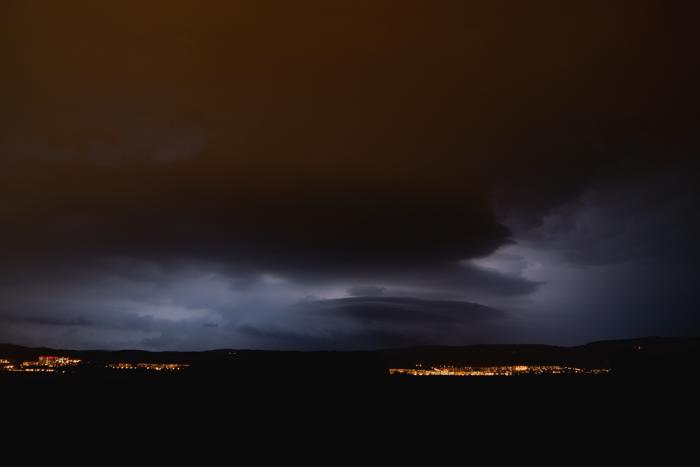 Noční bouřka vKrušných horách - autor: Michal Janoušek