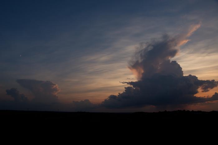 Blížící se cumulonimby - autor: Michal Janoušek