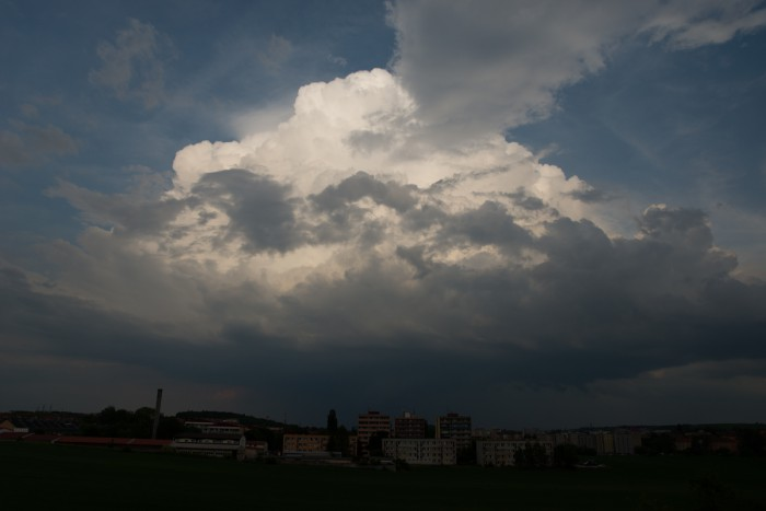 Blížící se cumulonimbus II - autor: Michal Janoušek