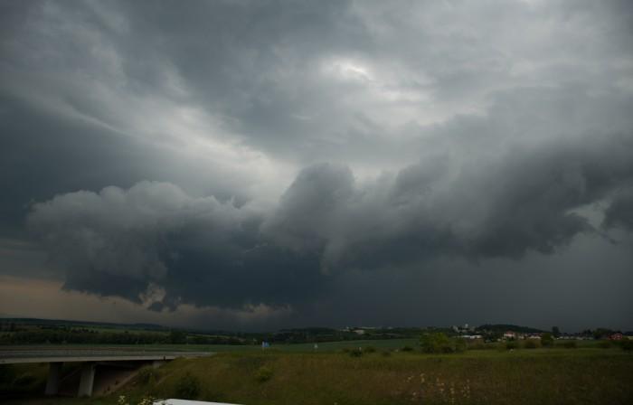 Začínající bouřka - autor: Michal Janoušek