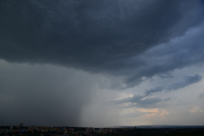 Srážkové pole bouřky - autor: Michal Janoušek