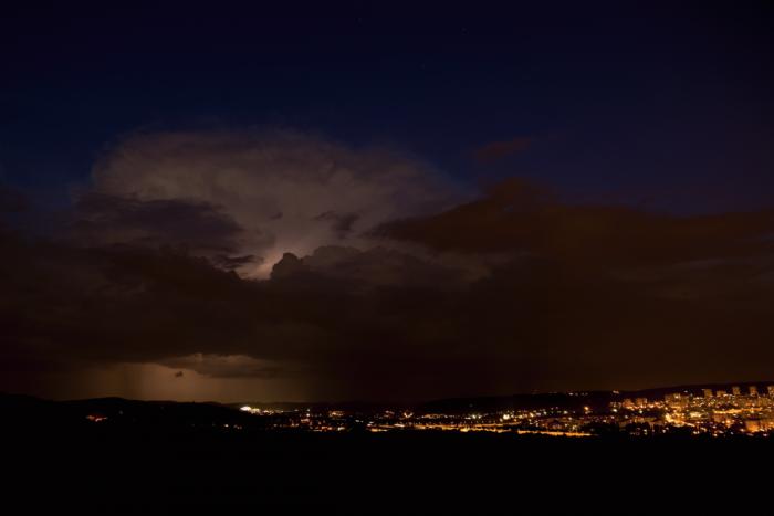 Blížící se noční bouřka I- autor: Michal Janoušek