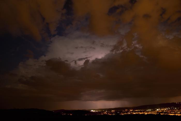 Blížící se noční bouřka II - autor: Michal Janoušek