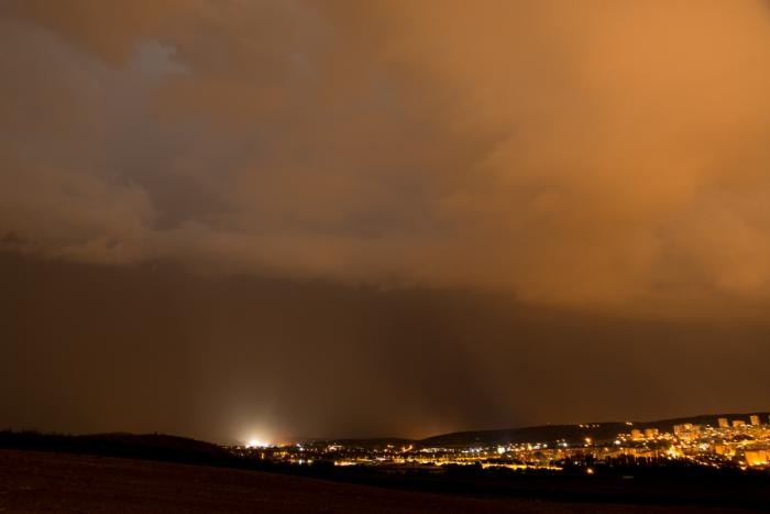 Noční bouřka nad Brnem IV - autor: Michal Janoušek