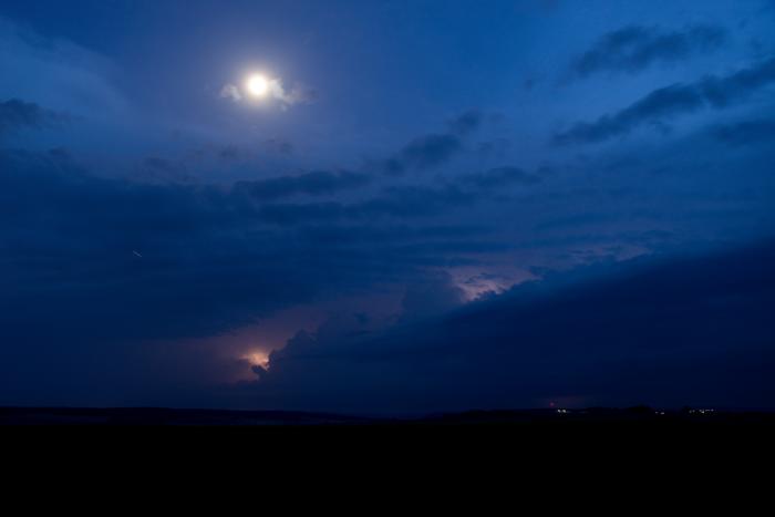 První známky blížící se bouřky - autor: Michal Janoušek