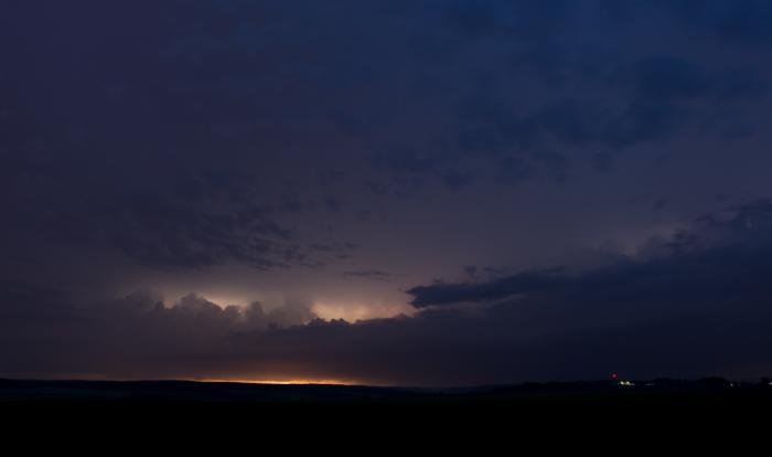Přicházející noční bouřka - autor: Michal Janoušek
