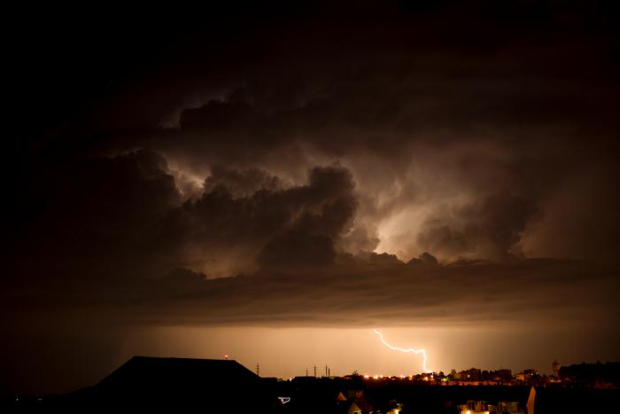 Odcházející noční bouřka - autor: Michal Janoušek
