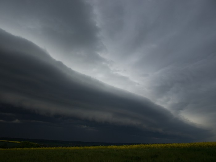 Shelf cloud - autor: Michal Janoušek