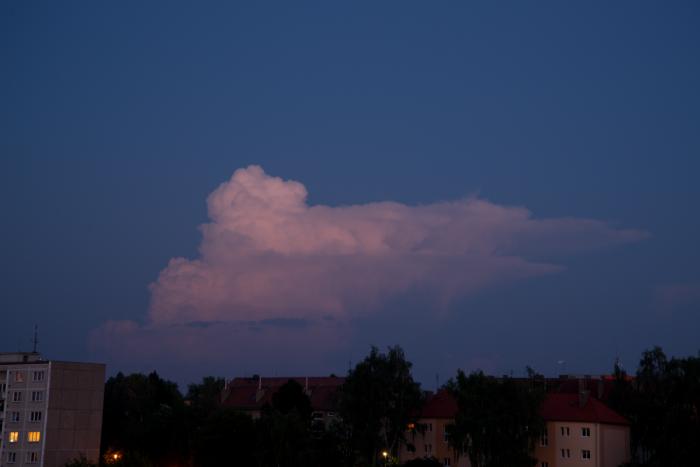 Pozápadní cumulonimbus I- autor: Michal Janoušek