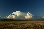 Cumulonimbus svýrazným overshooting top - autor: Tomáš Novotný