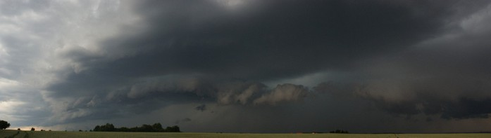 panorama komplexu bouřek - autor: Tomáš Novotný