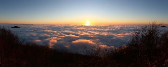panorama východu slunce - autor: Tomáš Novotný