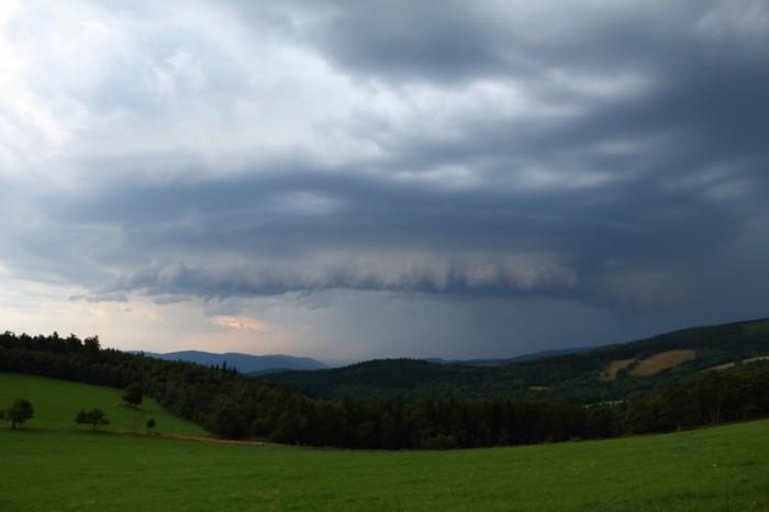 Vzhle bouře při příjezdu - autor: Tomáš Novotný