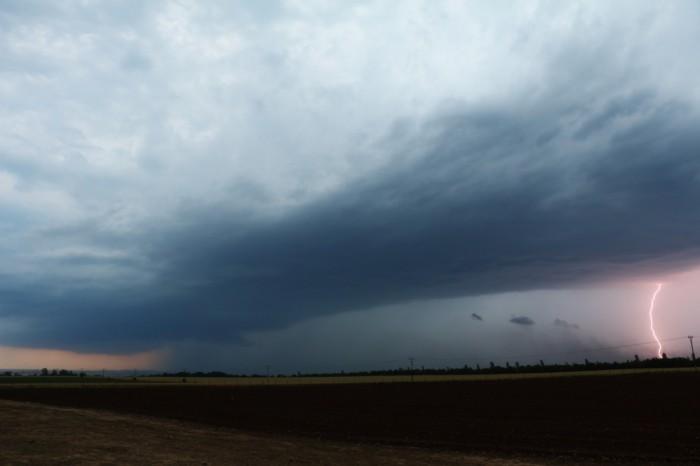 CG blesk na čele bouře - autor: Tomáš Novotný