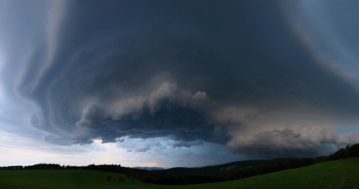 Panorama bouře - autor: Tomáš Novotný