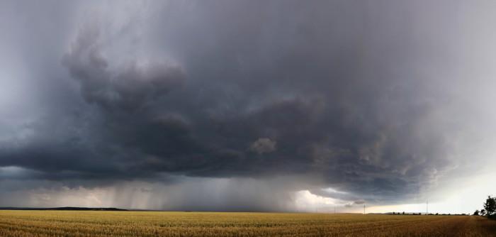 Panorama základny bouře - autor: Tomáš Novotný