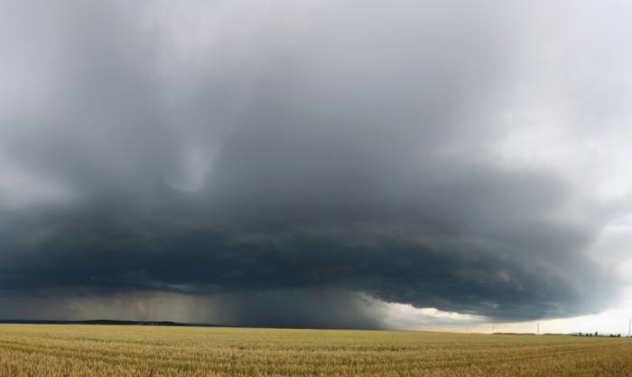 Panorama přicházející bouře - autor: Tomáš Novotný