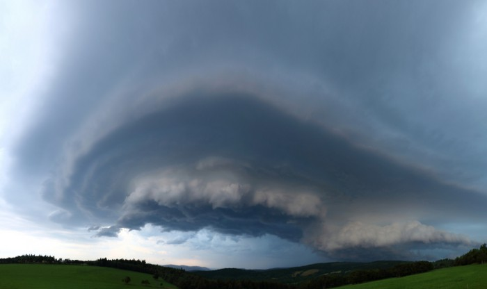 Panorama silné bouře - autor: Tomáš Novotný