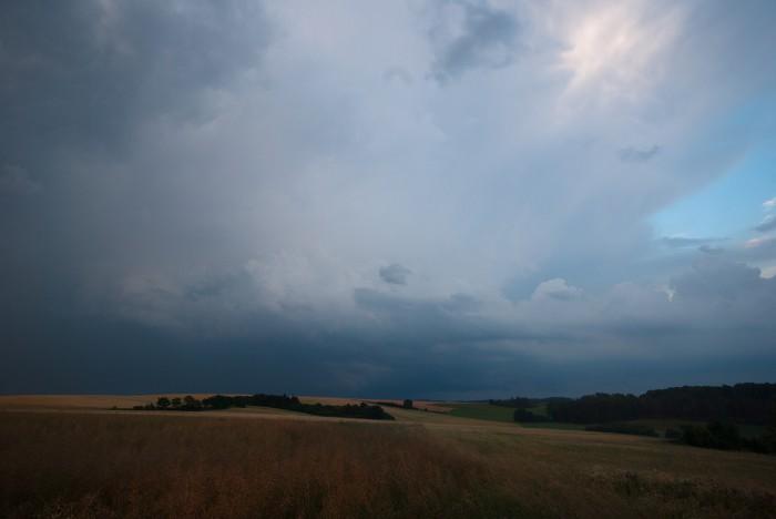 Zadní část bouřky - autor: Matěj Grék